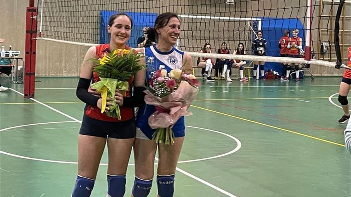 Francesca Chiappin eSara Marini (Foto Volley don bosco)
