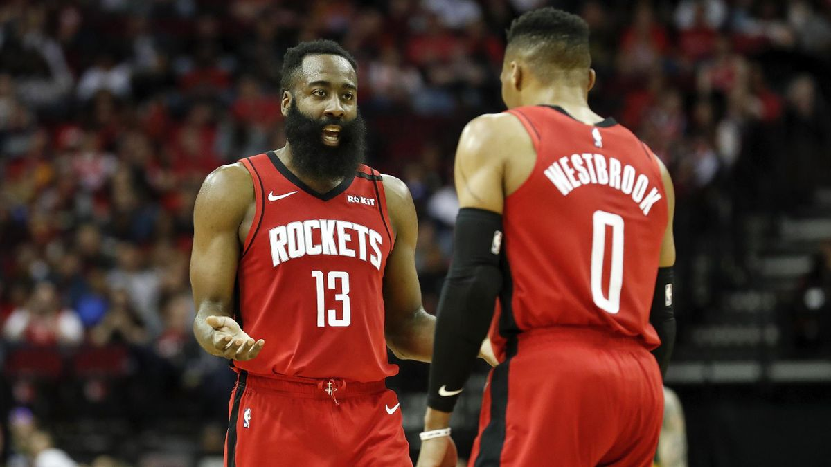 James Harden et Russell Westbrook (Houston Rockets)