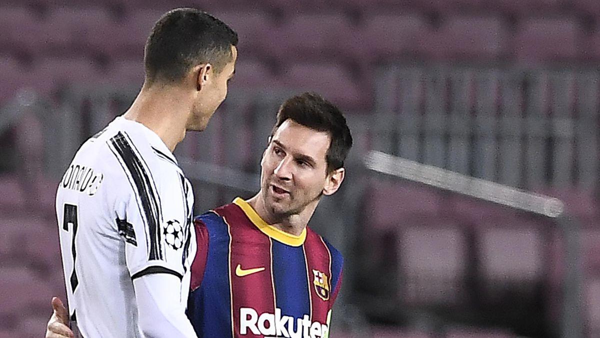 Cristiano Ronaldo și Lionel Messi