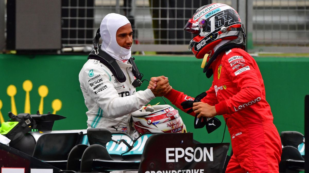 Lewis Hamilton, Charles Leclerc, F1, Getty Images