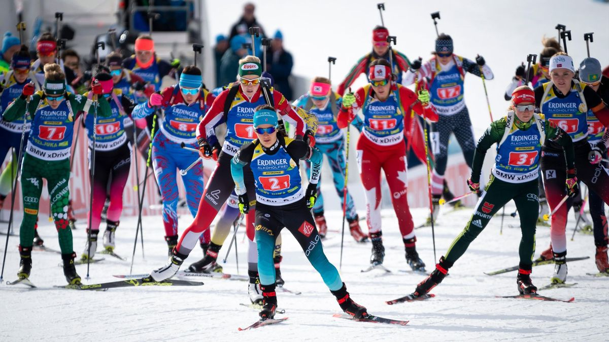 Biathlon, Staffel