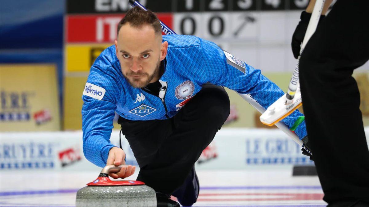 Buon esordio per l'Italia agli Europei di curling 2019