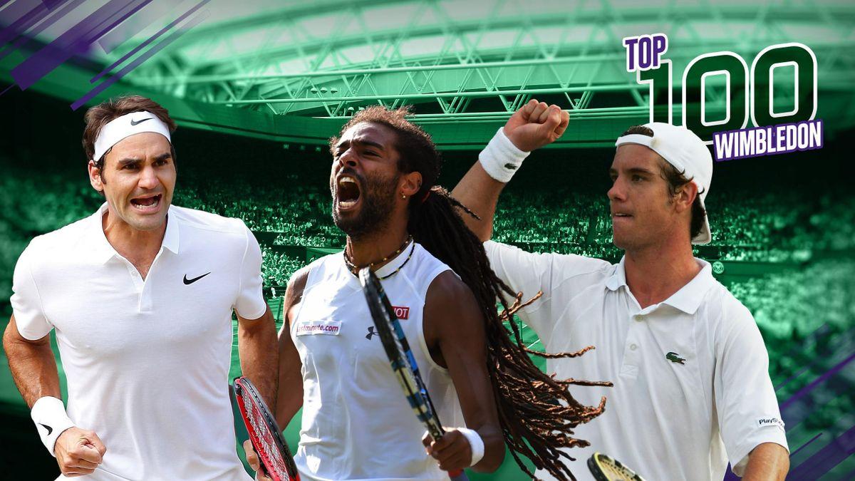 Le Top 100 de Wimbledon
