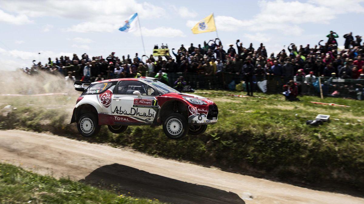 Kris Meeke in WRC action
