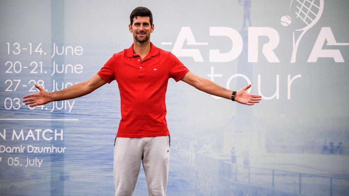 Novak Djokovic, Adria Tour presentation