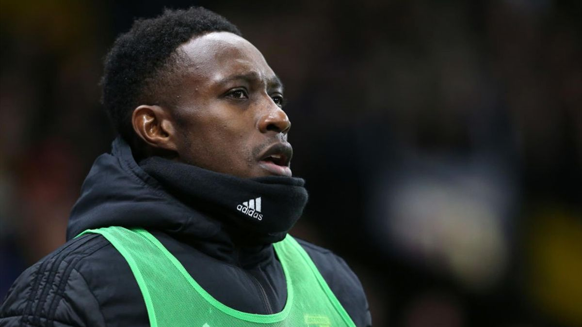 Danny Welbeck of Watford during the Premier League match between Watford FC