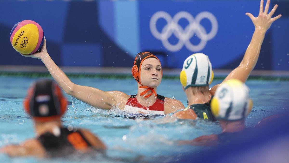 Tokyo 2020   Dames waterpolo laten zege door vingers glippen tegen Australie