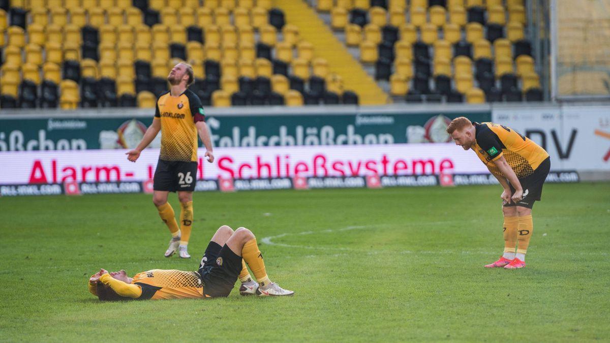 Dynamo Dresden patzt zuhause gegen den 1. FC Saarbrücken