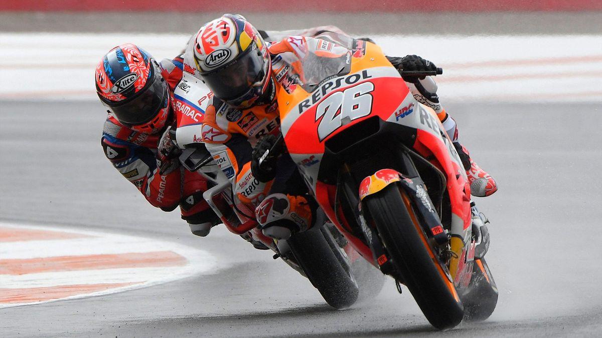 Dani Pedrosa (Honda HRC), Danilo Petrucci (Ducati Pramac) - GP of valencia 2018