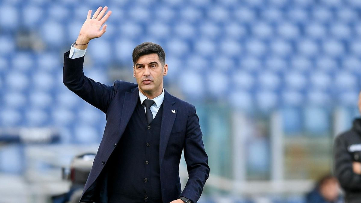 Mister Paulo Fonseca, Roma 2020-2021 (Getty Images)
