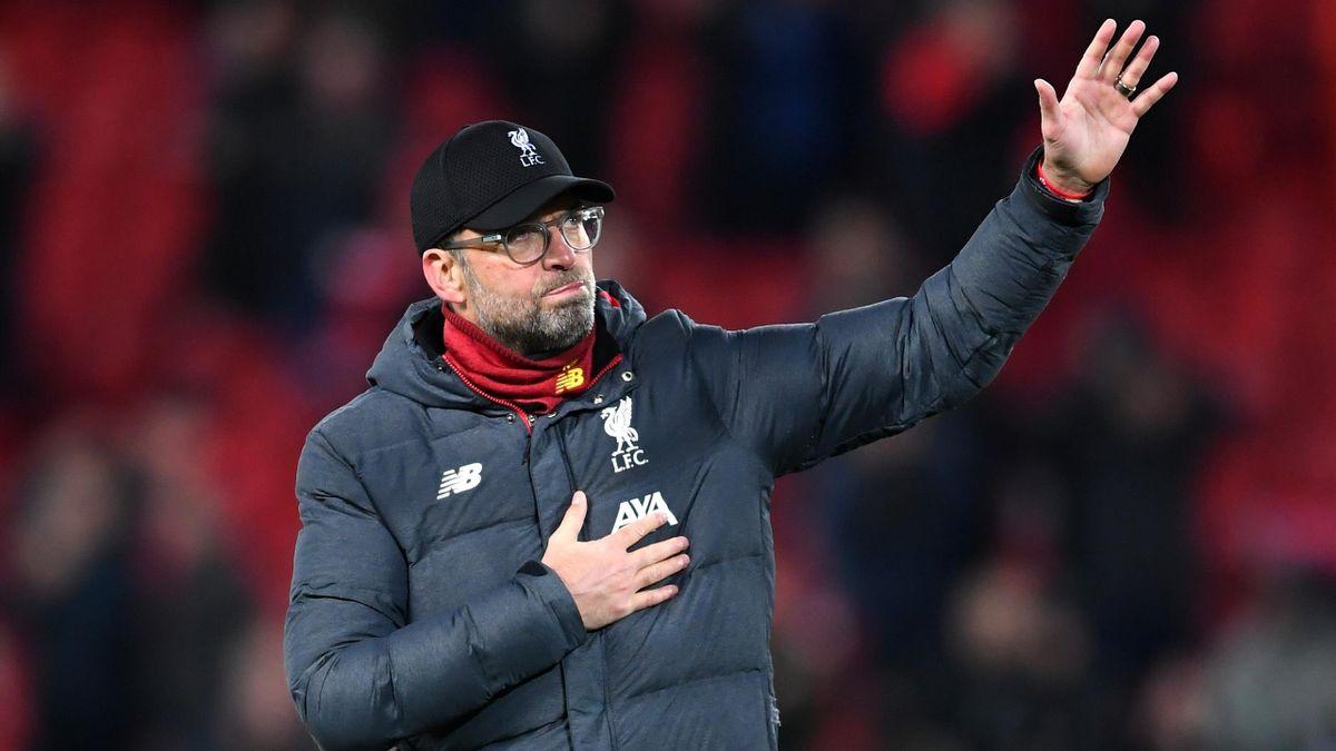 Jürgen Klopp ist seit 2015 Trainer beim FC Liverpool