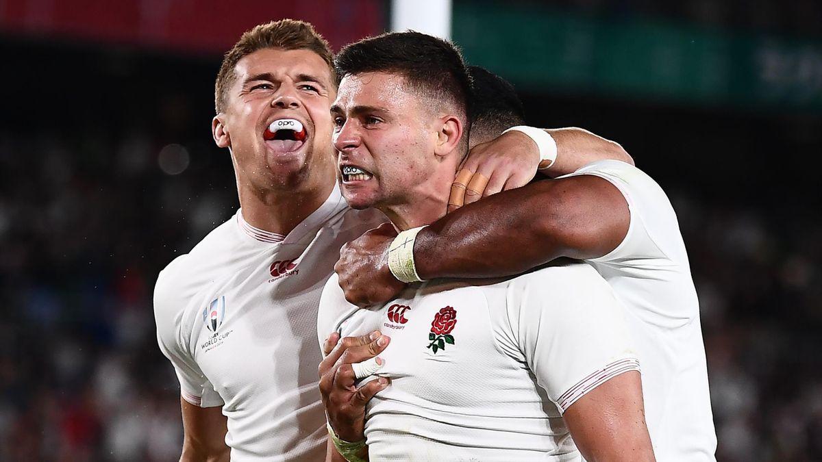 Englands Rugby-Nationalteam im WM-Finale