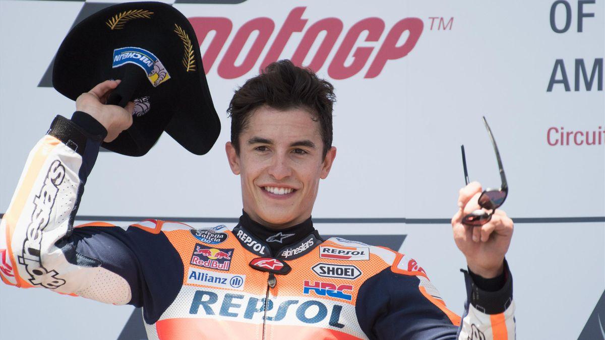 Marc Marquez op Circuit de Americas