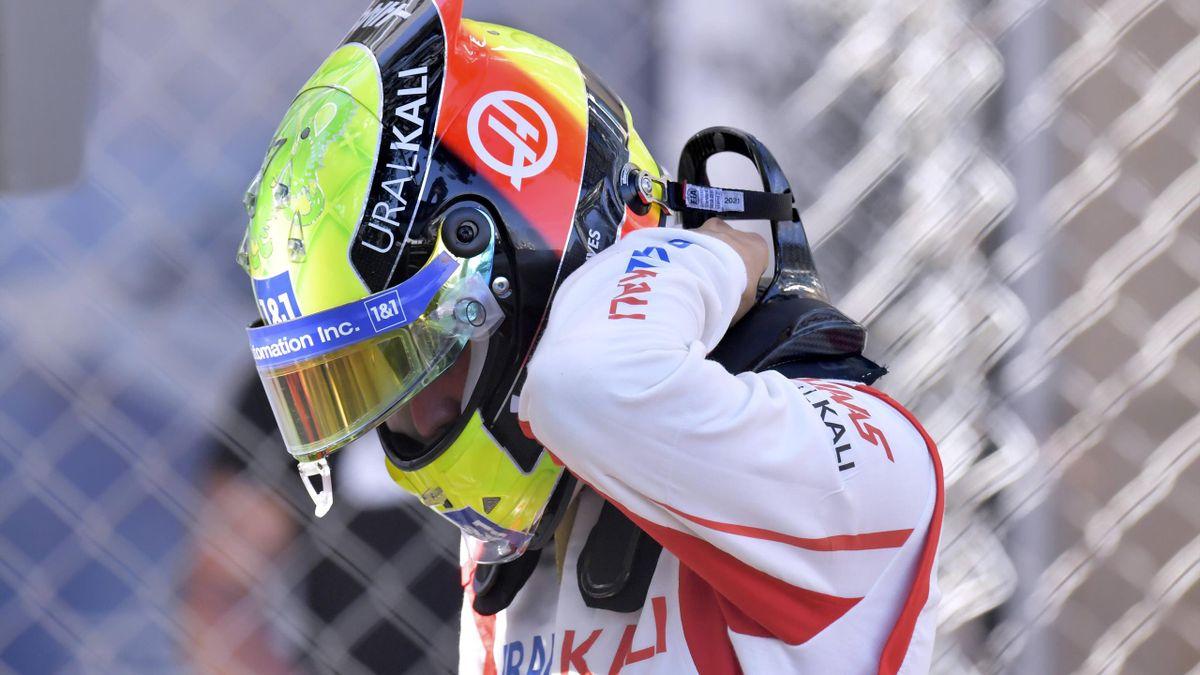 Mick Schumacher crasht im 2. Training in Monaco