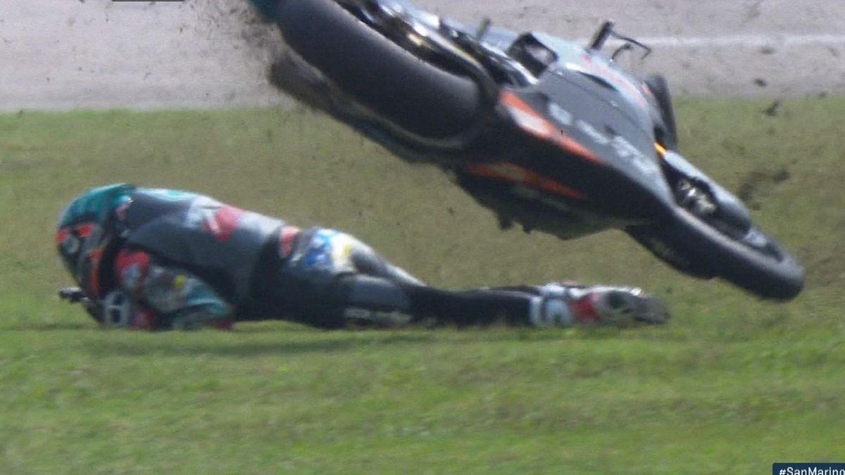 Moto 2 FP3: Tulli's second fall