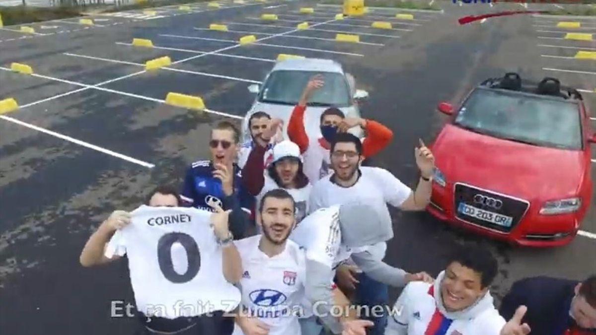 En bande désorganisée - le rap parodique de supporters lyonnais