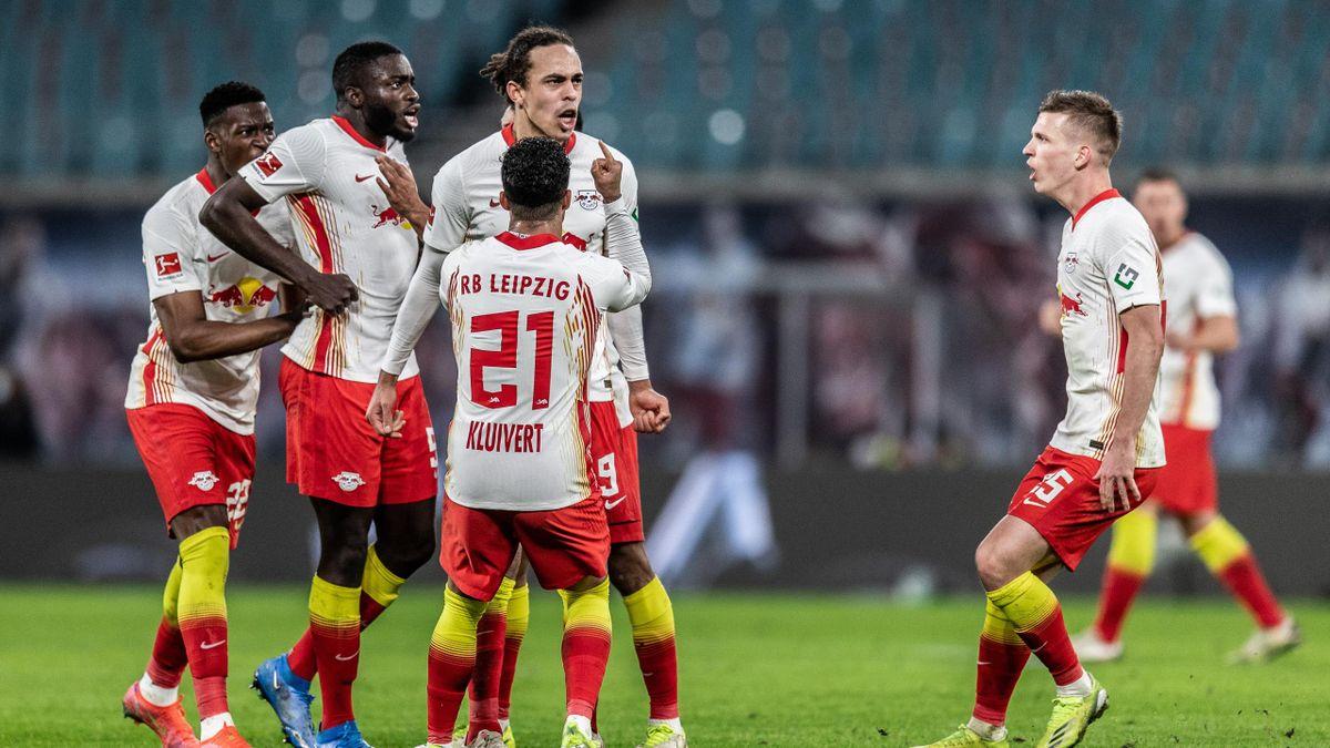 Die Profis von RB Leipzig brennen auf den Kracher gegen Bayern