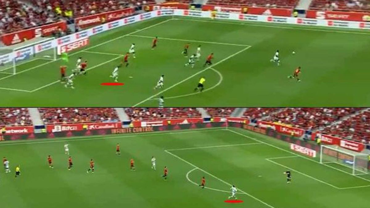 Ronaldo da un'area all'altra in 10 secondi: video virale