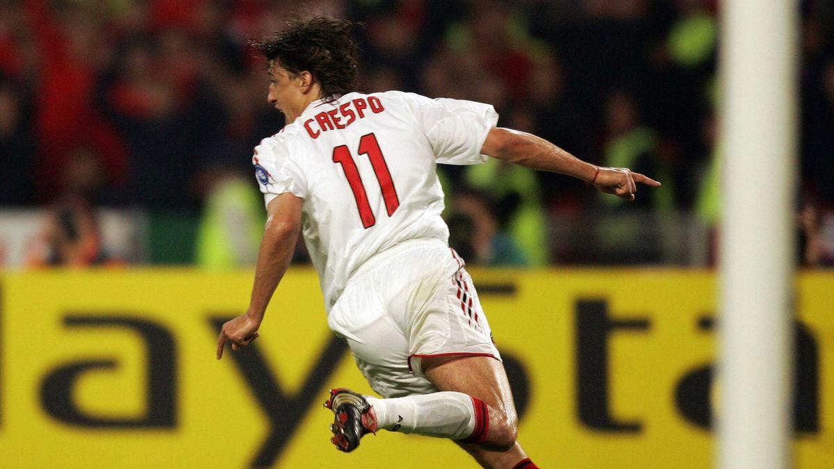 Hernan Crespo, finale di Champions 2005
