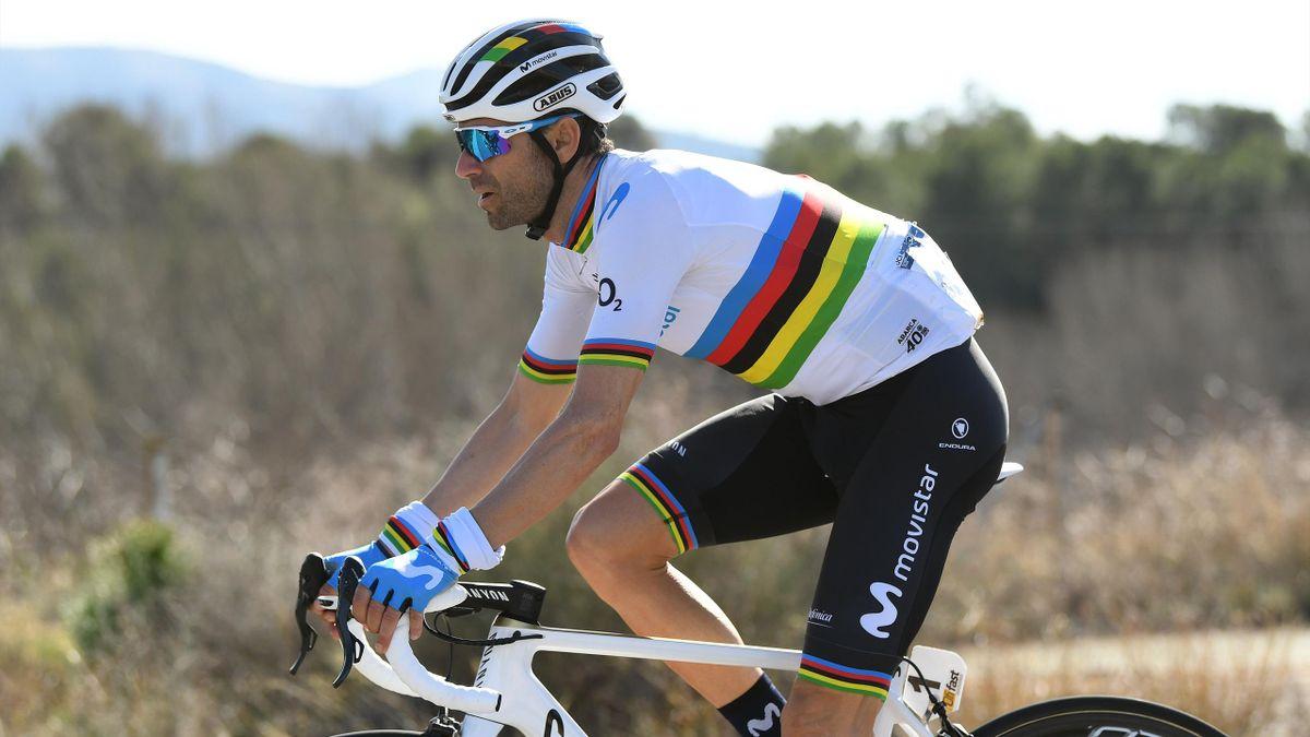World Champion: Alejandro Valverde (Movistar)