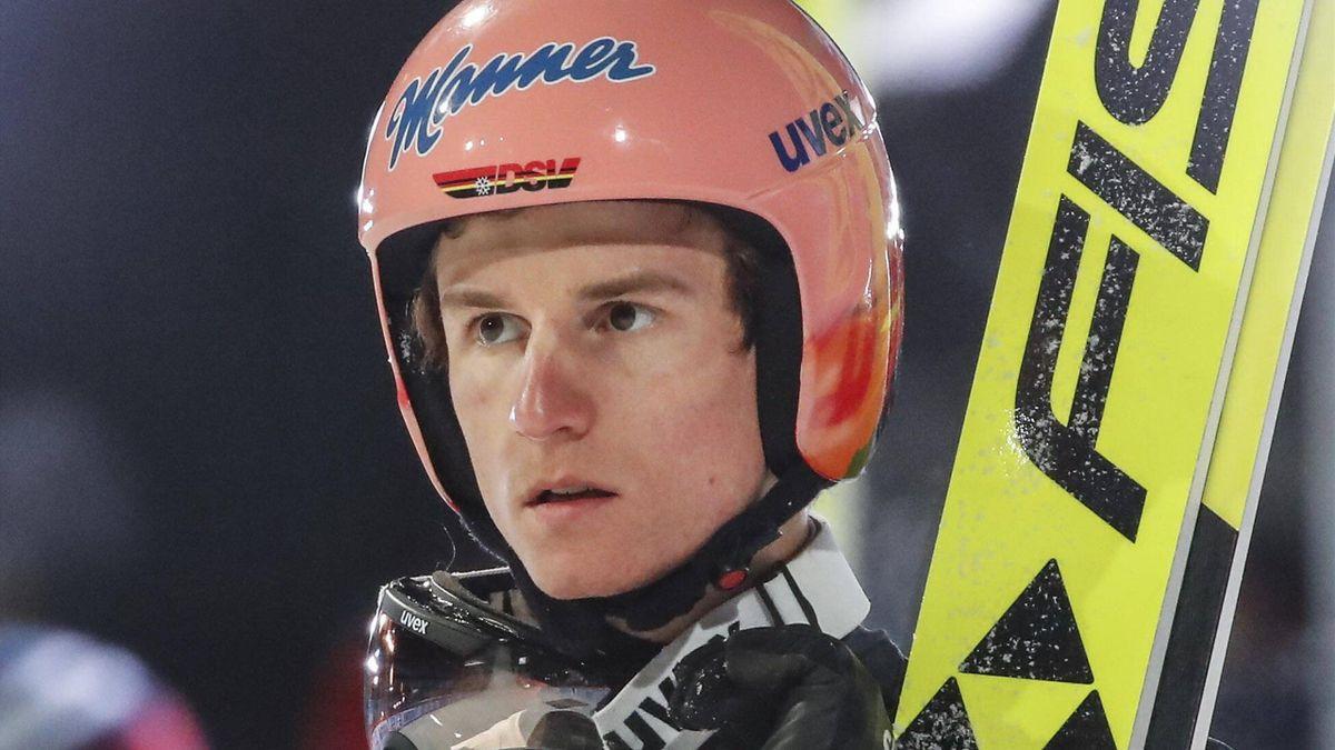 Karl Geiger 2021 in Bischofshofen