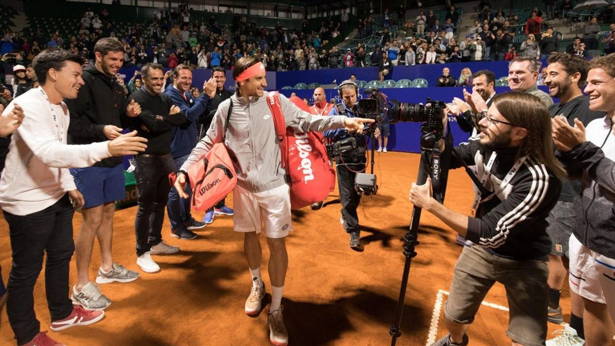 David Ferrer es homenajeado en el ATP 250 de Buenos Aires