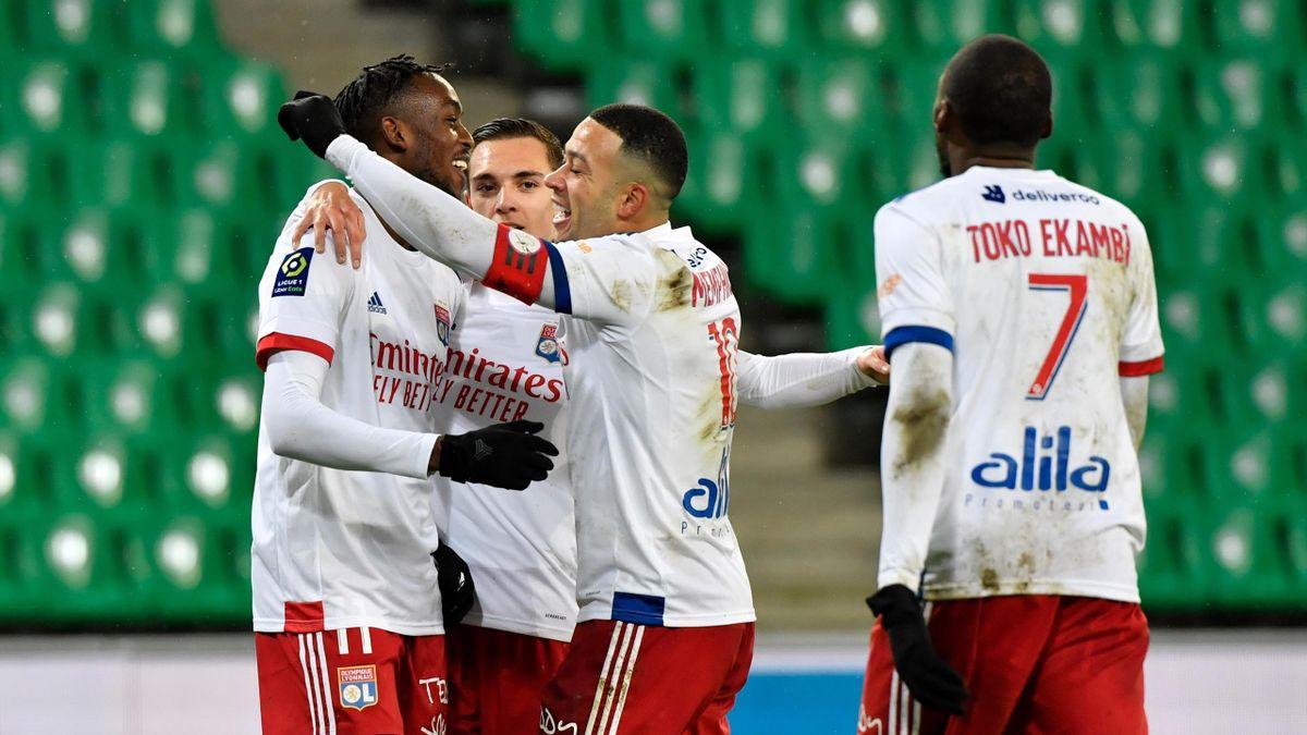 L'OL n'a laissé aucune chance à Saint-Etienne