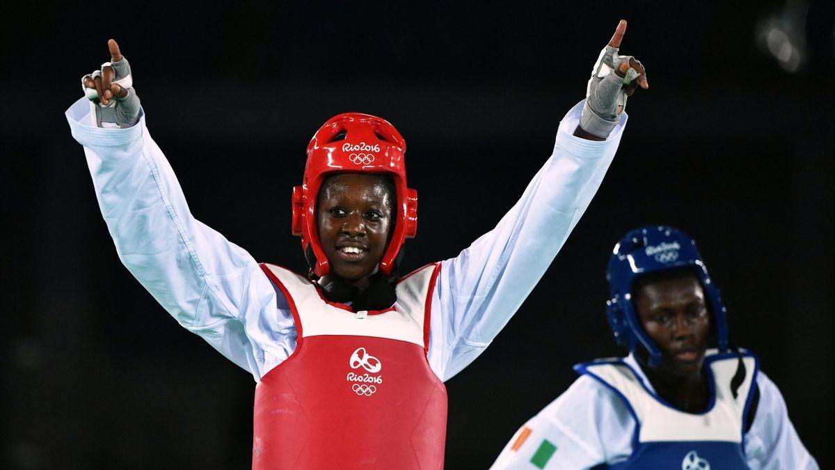 Haby Niaré à Rio en 2016
