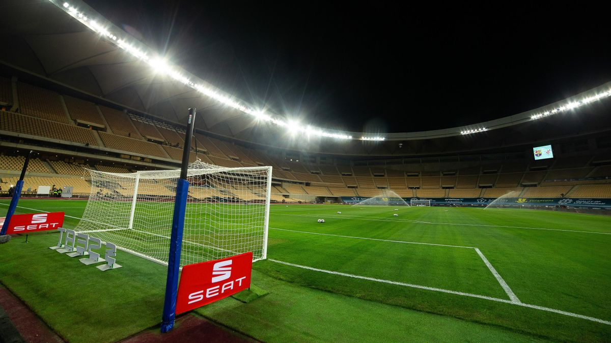 The Cartuja Stadium in Seville will host the Copa del Rey final
