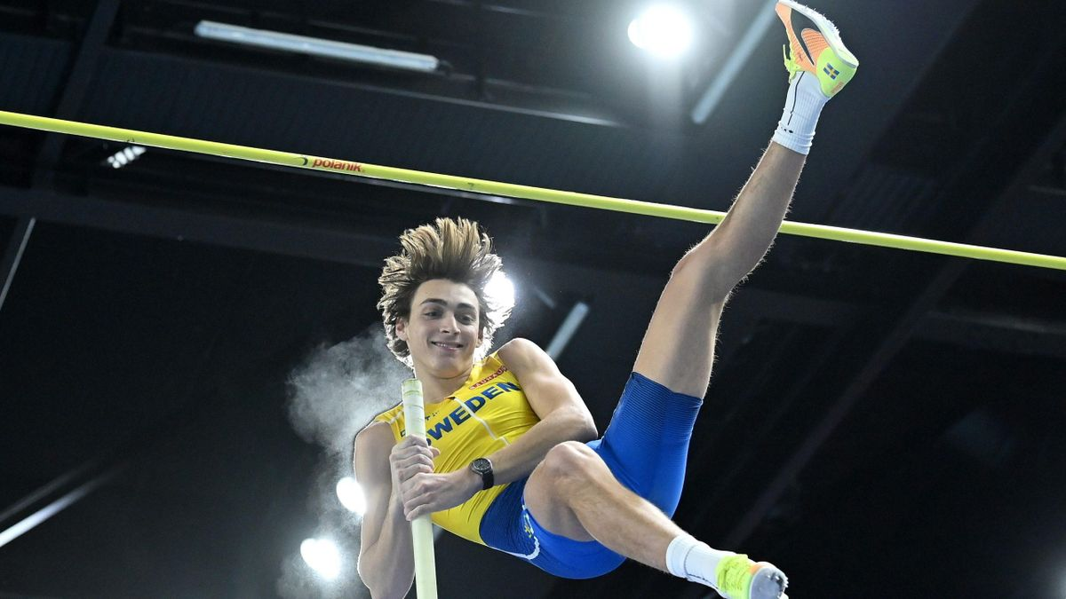 Armand Duplantis (Suède) / Championnats d'Europe en salle 2021
