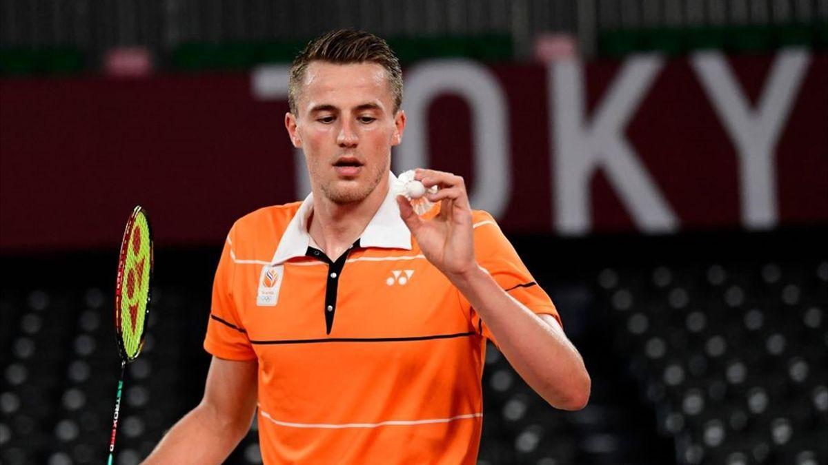 Tokyo 2020   Badmintonner Mark Caljouw verslaat Misha Zilberman