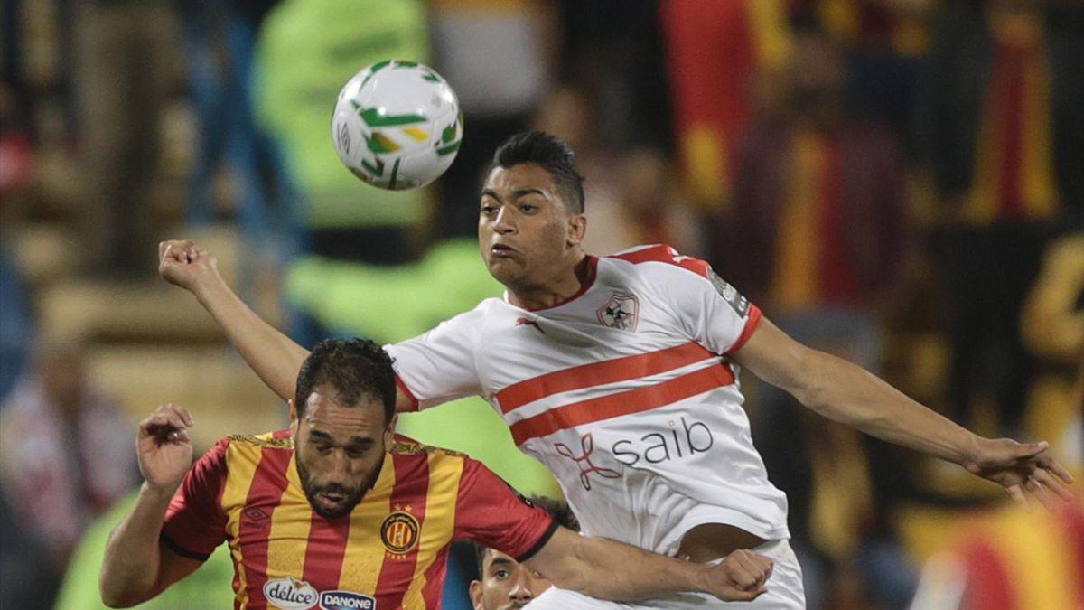 Mostafa Mohamed (Zamalek) proche de Saint Etienne