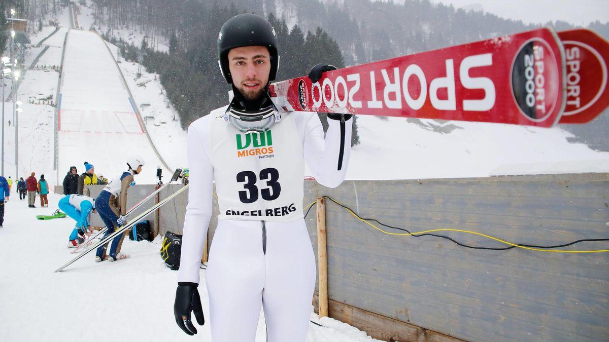 Fatih Arda Ipcioglu became the first Turkish ski jumper to jump in the Four Hills Tournament