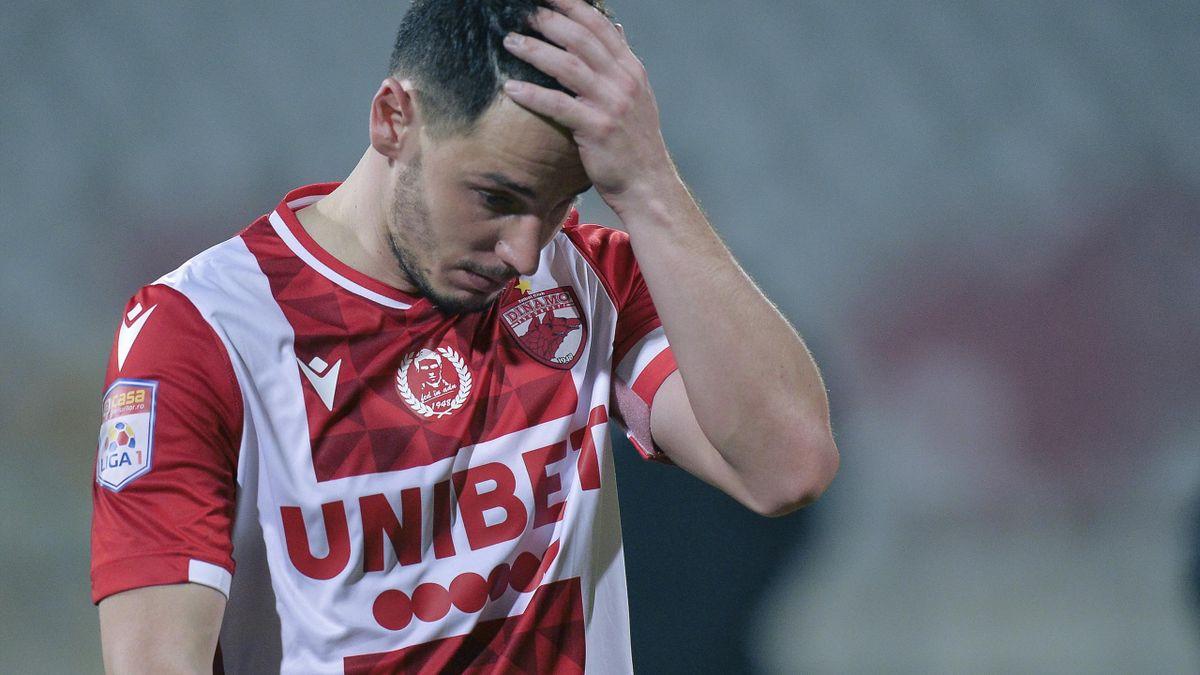 Dinamo a coborât pe un loc retrogradabil după 1-4 la Mediaș