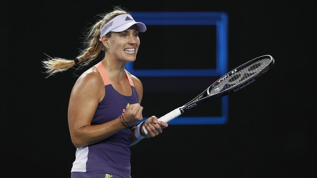 Angelique Kerber hat 2021 die Australian Open fest im Blick