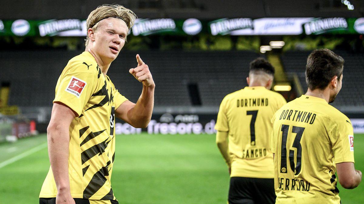 Erling Haaland wird Borussia Dortmund noch mehrere Wochen fehlen