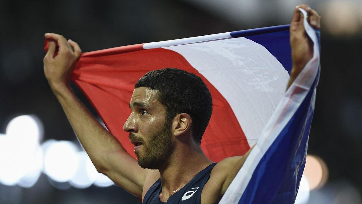Mahiedine Mekhissi-Benabbad - Athlétisme 3000m steeple JO Rio 2016