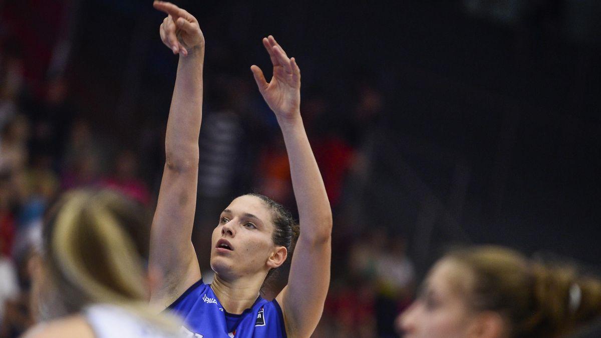 Cecilia Zandalasini è la leader tecnica della Nazionale di Basket Femminile di coach Marco Crespi, Getty Images