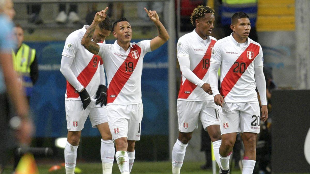 Yotun esulta in Cile-Perù, Copa America