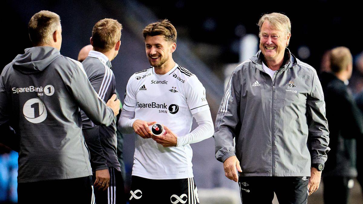 Vebjørn Hoff og Åge Hareide
