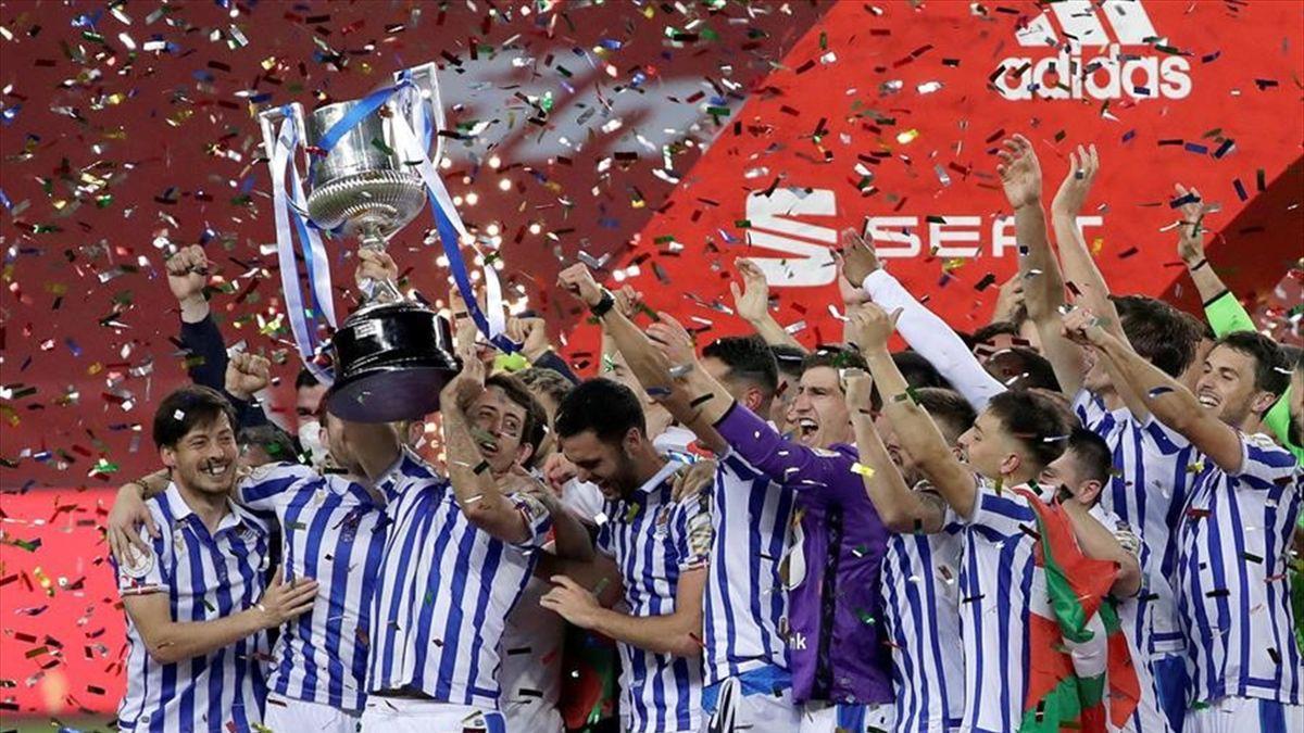 La Real Sociedad, Copa del Rey 2020