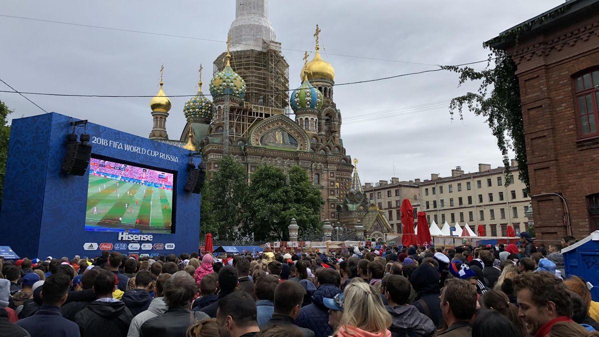 Фан-зона в СПб