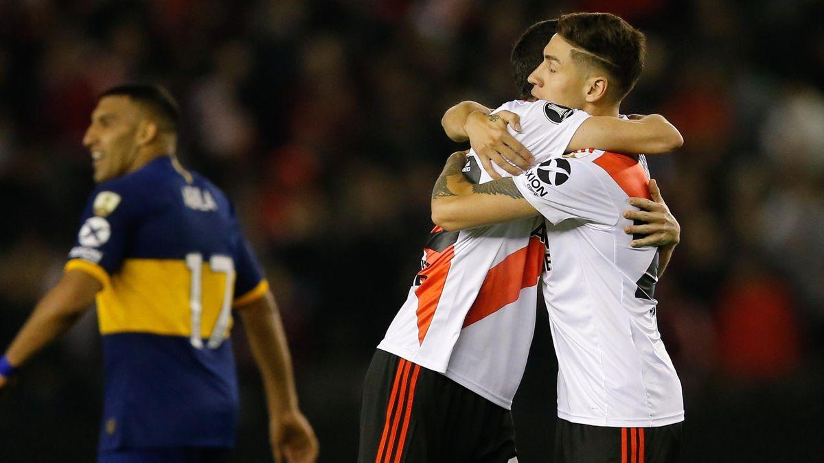 Gabriel Montiel en el River-Boca - Copa Libertadores 2019-20