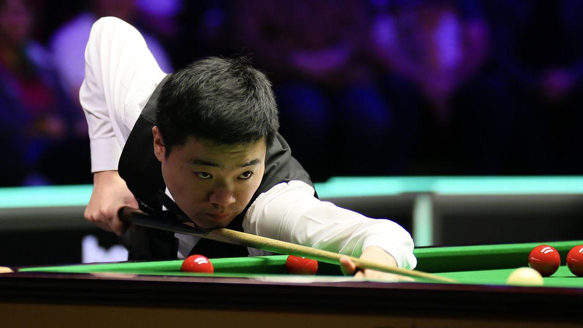 Titelverteidiger bei der UK Championship: Ding Junhui