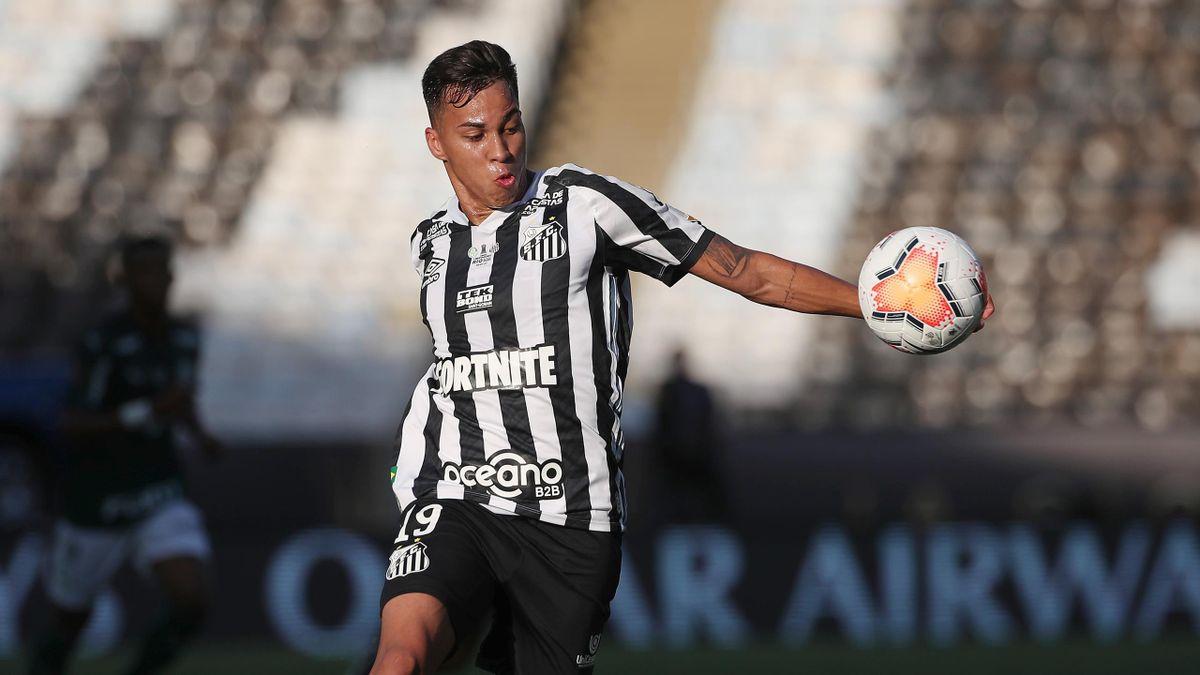 Kaio Jorge, Santos 2020-2021 (Getty Images)