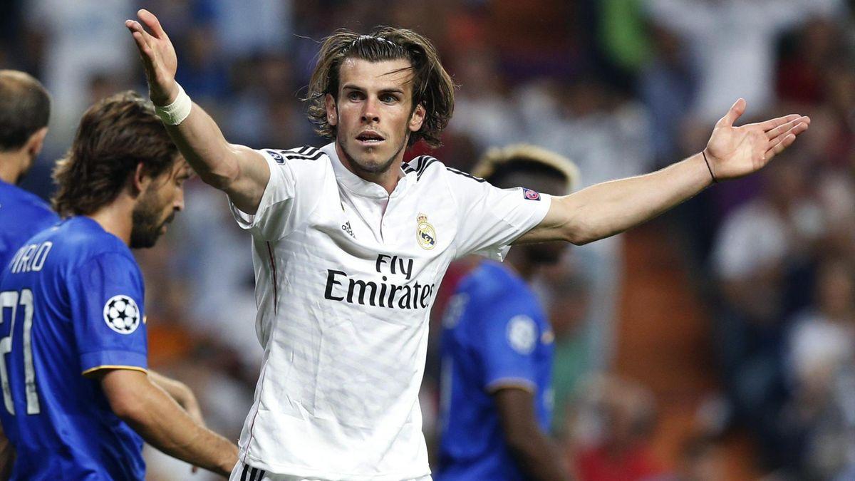 Gareth Bale, en el Real Madrid-Juventus