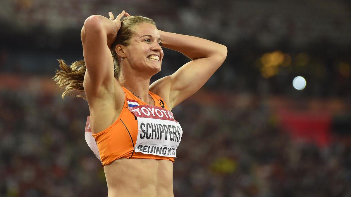 La Néerlandaise Dafne Schippers, sacrée sur 200m aux Mondiaux de Pékin