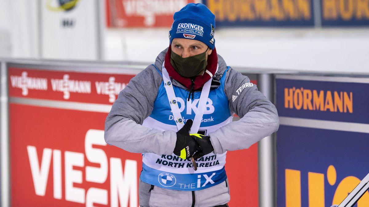 Erik Lesser beim Saison-Auftakt in Kontiolahti