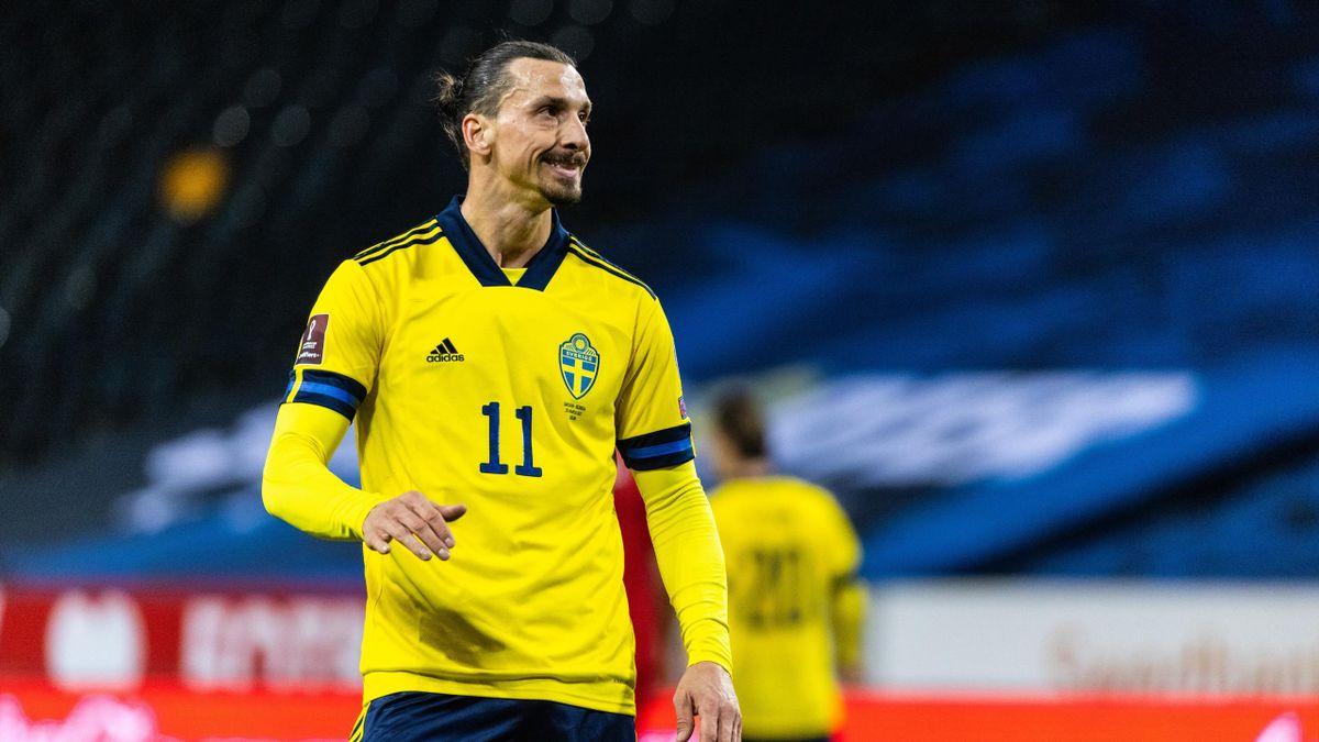 Zlatan Ibrahimovic avec la Suède