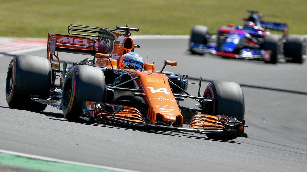 Fernando Alonso, GP Hungría 2017